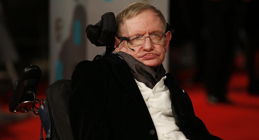 Stephen Hawking, físico británico