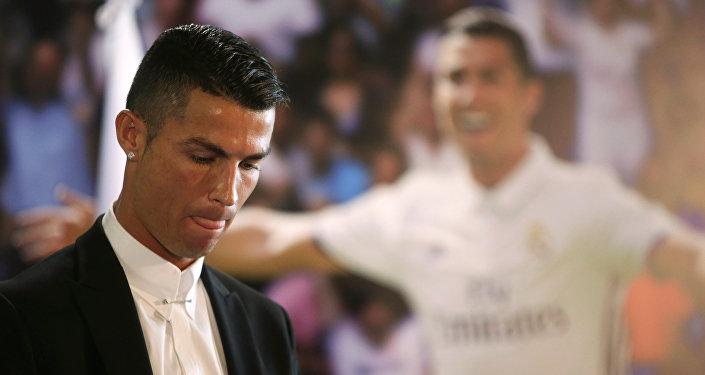 Cristiano Ronaldo, el delantero portugués del Real Madrid