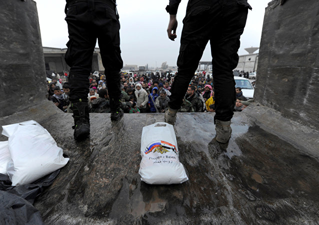 Ayuda humanitaria de Rusia