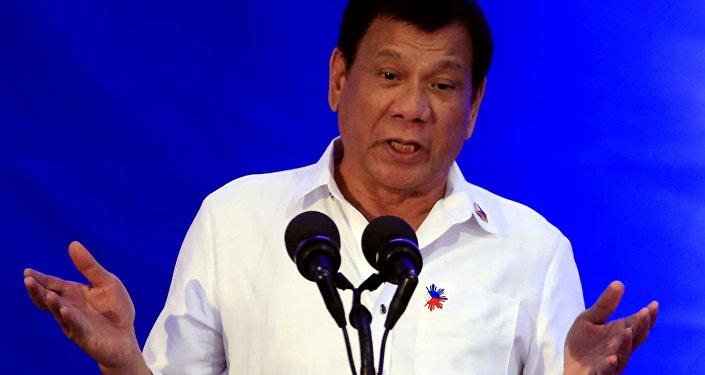 Rodrigo Duterte, el presidente de Filipinas (archivo)