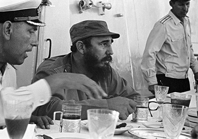 Fidel Castro, líder de la revolución