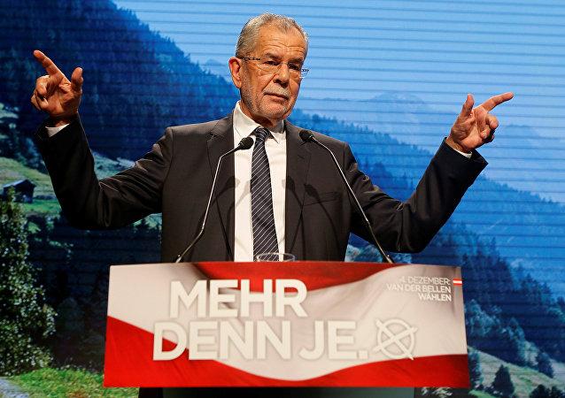 Alexander Van der Bellen, presidente electo de Austria