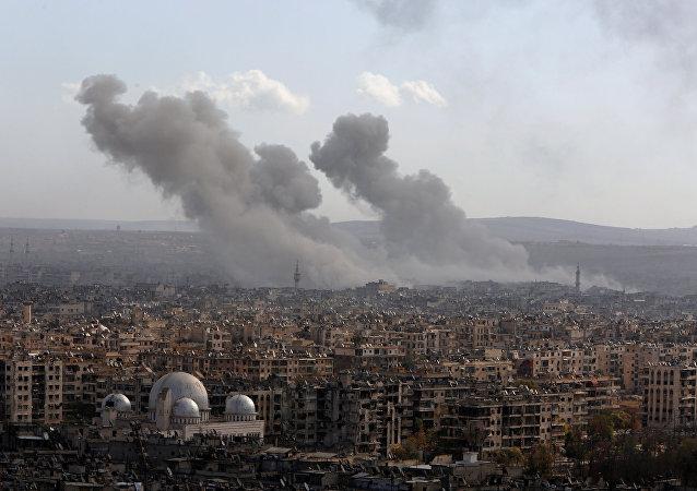 La situación en Alepo, Siria (archivo)