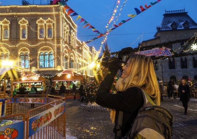 Moscú se engalana para la llegada del año nuevo