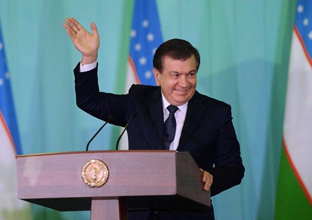 Shavkat Mirziyoyev, el presidente electo de Uzbekistán