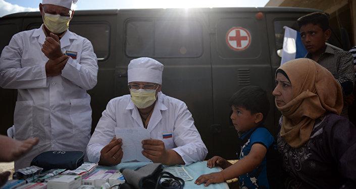 Médicos rusos en Siria