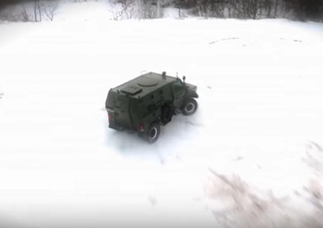 Carro blindado ruso Skorpión