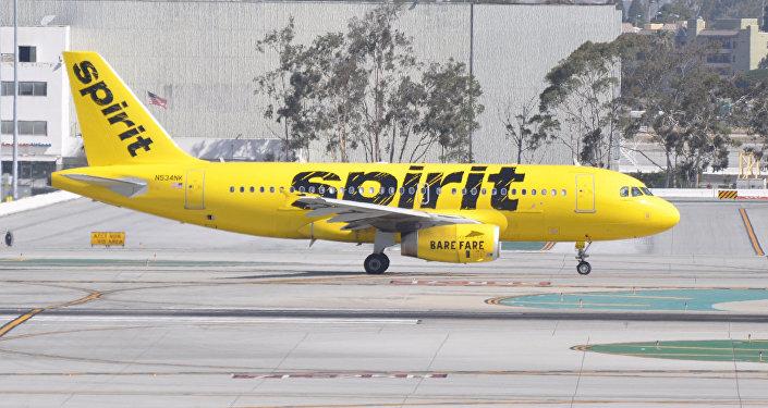 Un avión de Spirit Airlines