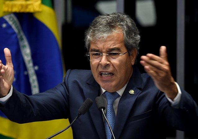 Jorge Viana, senador del Partido de los Trabajadores (PT)