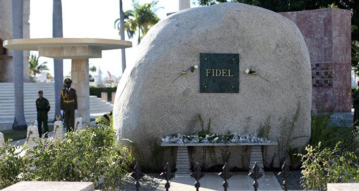 La tumba de Fidel Castro (archivo)