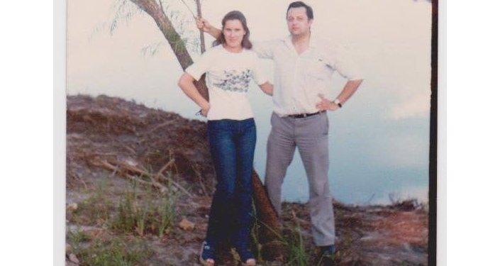 Vladimir Roslik y su esposa María Cristina Zavalkin