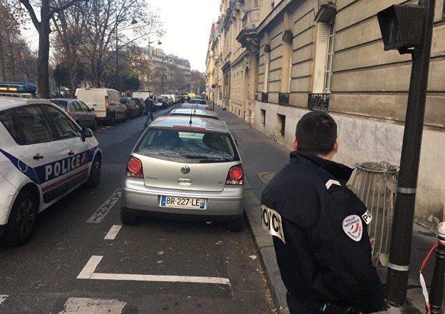 Encuentran un objeto sospechoso cerca de la oficina de Sputnik en París
