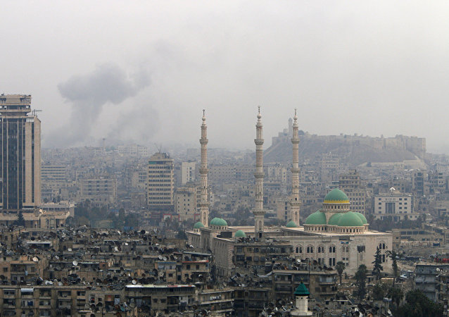 La ciudad de Alepo tras los ataques