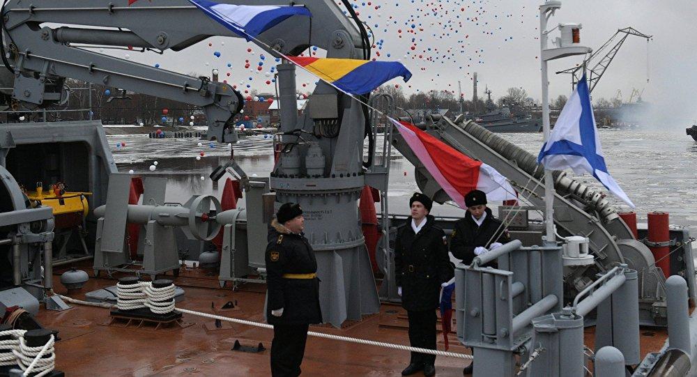 Aleksandr Obukhov, nueva embarcación cazaminas de la Armada Rusa