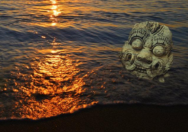 Monstruo marino (montaje)