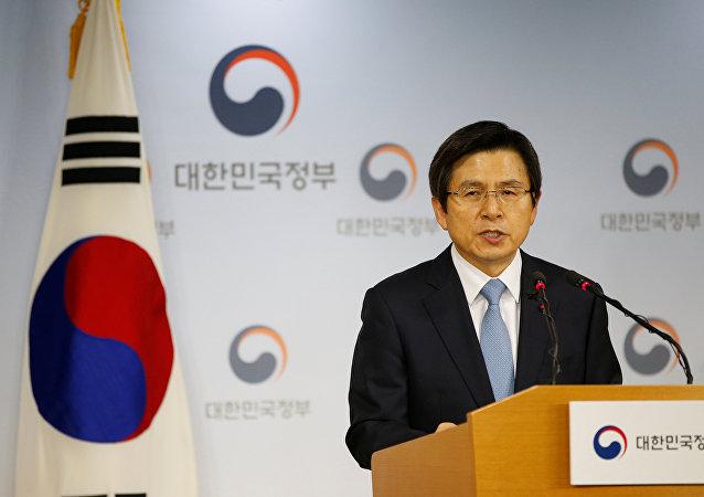Hwang Kyo-ahn, presidente interino de Corea del Sur