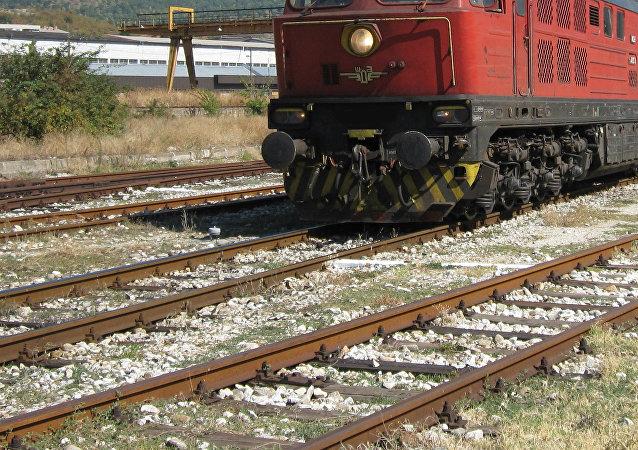Un tren (imagen referencial)