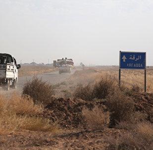 Situación en las afueras de Al Raqa
