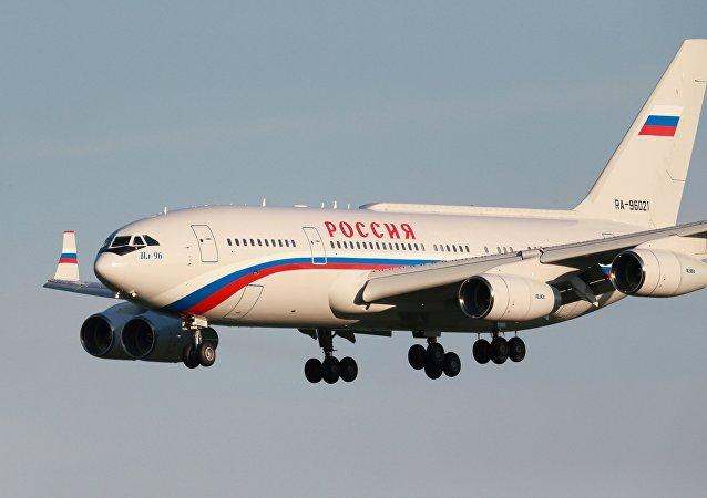 El avión del presidente de Rusia, Vladímir Putin (archivo)