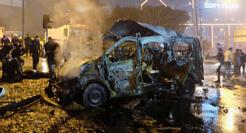 Explosión en Estambul