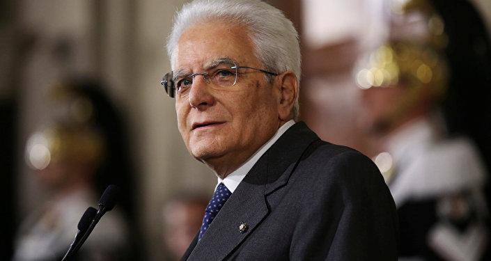 Sergio Mattarella, presidente de Italia