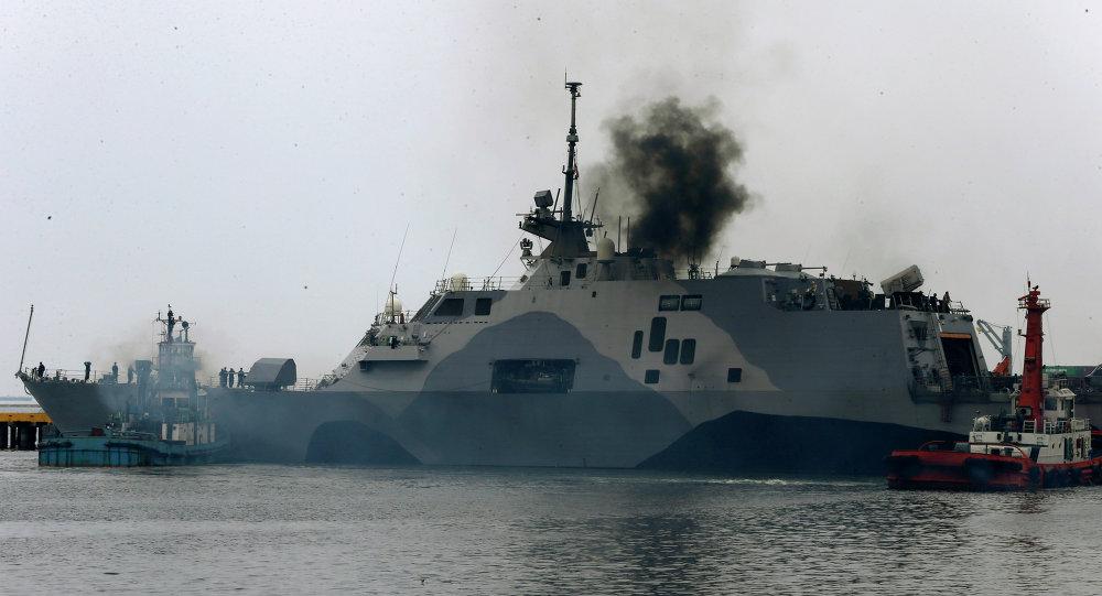 Buque estadounidense USS Freedom (LCS-1)