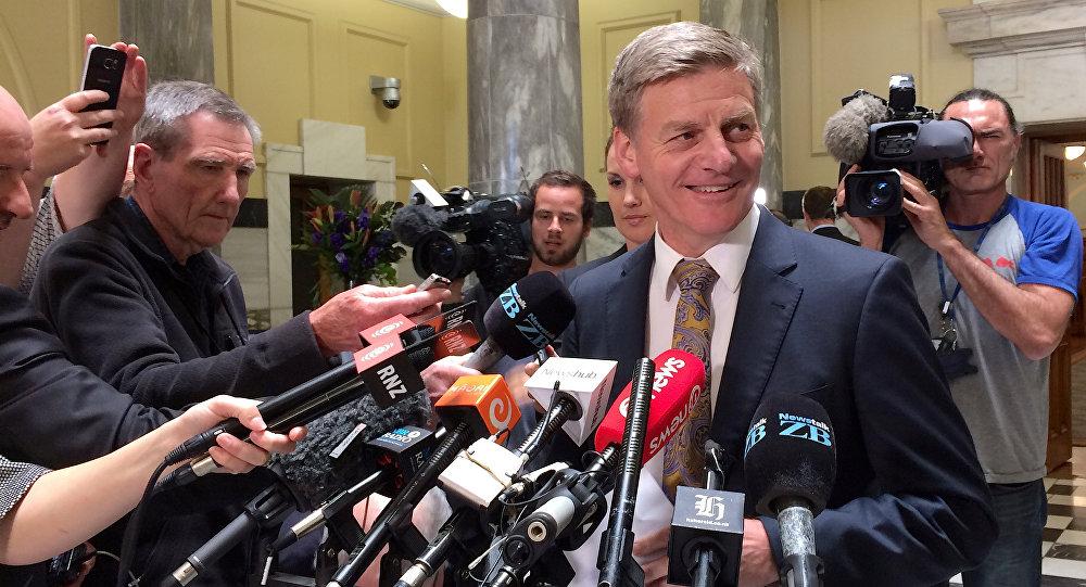 Bill English, primer ministro de Nueva Zelanda