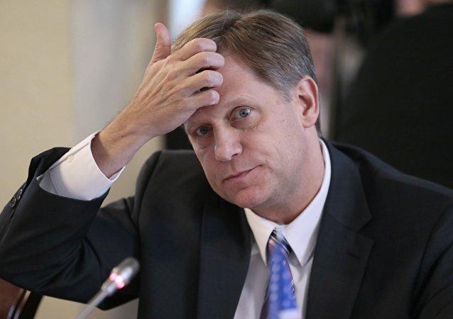 Michael McFaul, exembajador de EEUU en Moscú (archivo)