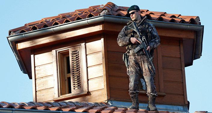 La policía especial de Turquía (archivo)