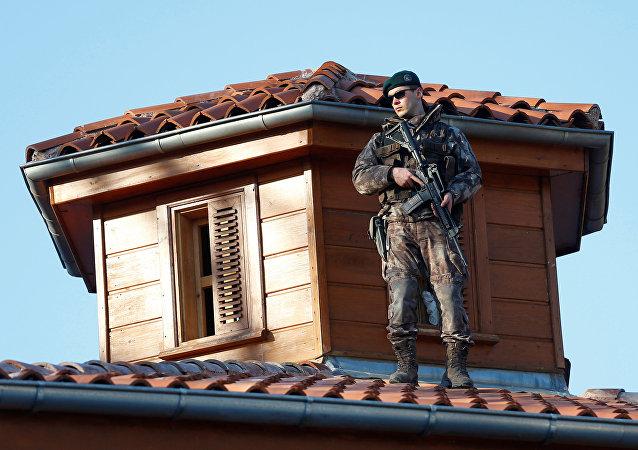 La policía especial de Turquía
