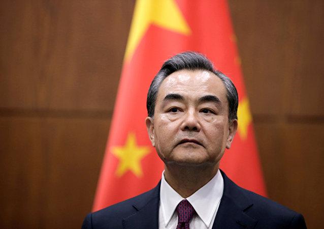 Wang Yi, ministro de Asuntos Exteriores de China