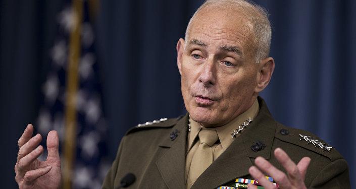 John Kelly, exjefe del Comando Sur de EEUU
