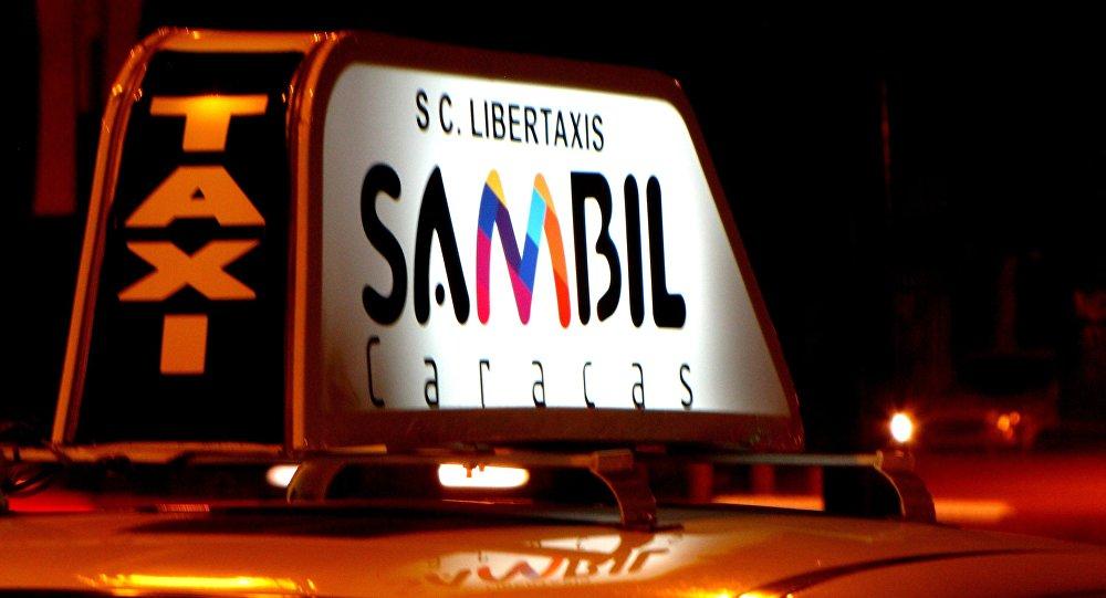 Un taxi venezolano