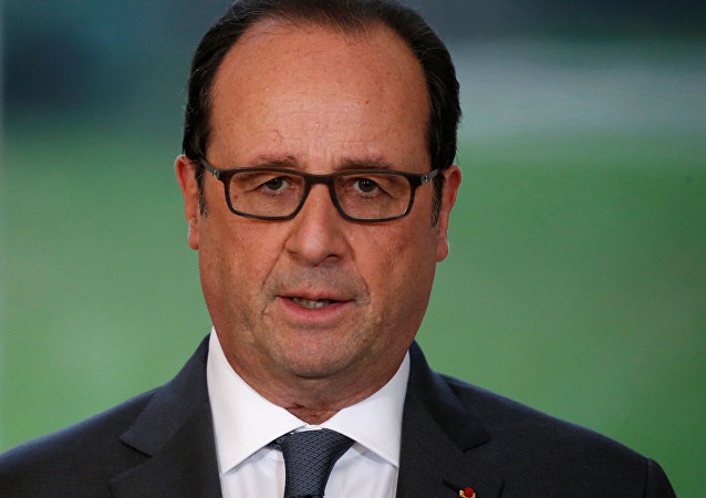 François Hollande presidente de Francia (archivo)