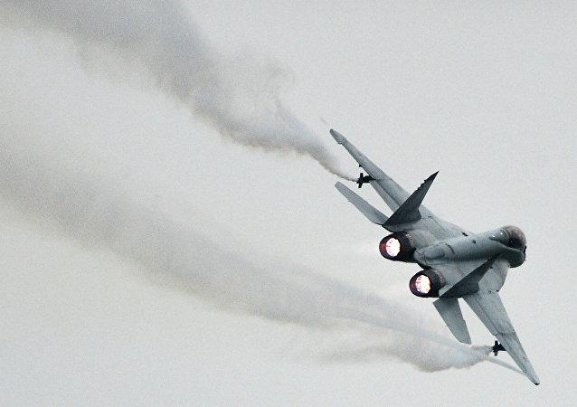 Caza MiG-35 de las FFAA rusas