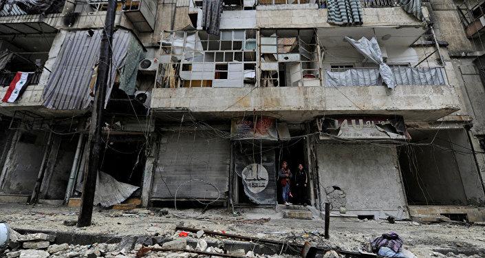 Situación en Alepo, Siria