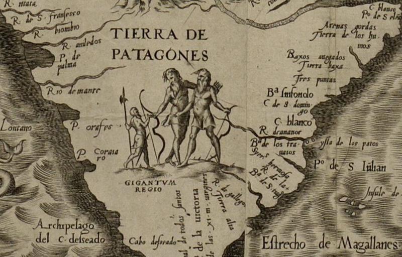 Mapa de las Américas del 1562