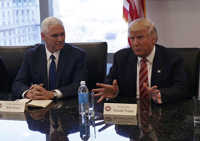 Donald Trump se reúne con líderes de la industria tecnológica