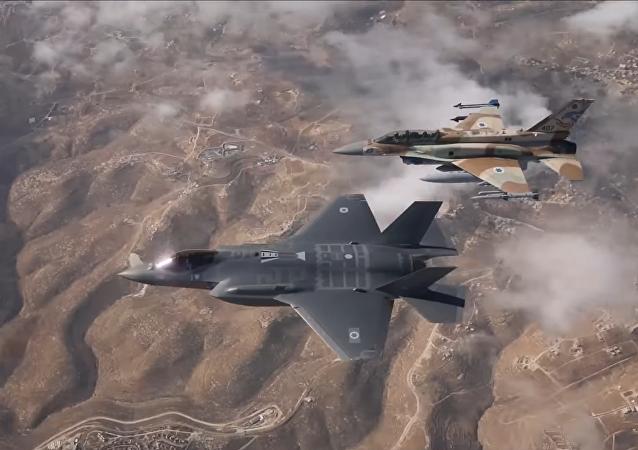 El primer vuelo de los cazabombarderos F-35 de la Fuerza Aérea israelí