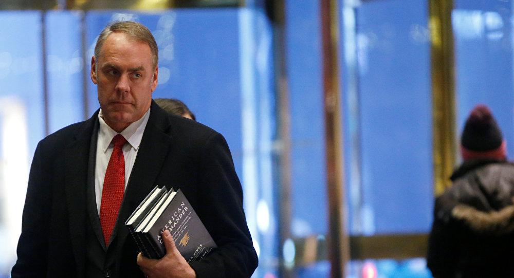 El secretario del Interior de EEUU, Ryan Zinke