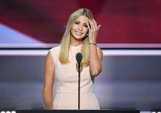 La hija del presidente de Estados Unidos, Ivanka Trump