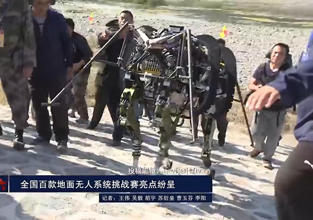 Las bestias robots chinas de combate