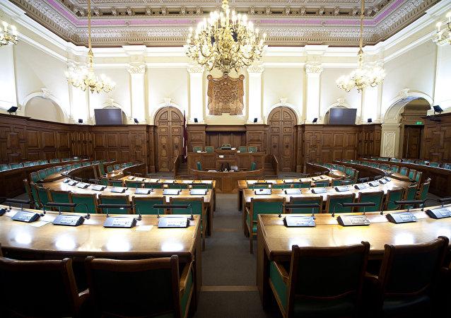 La Saeima, el Parlamento de Letonia