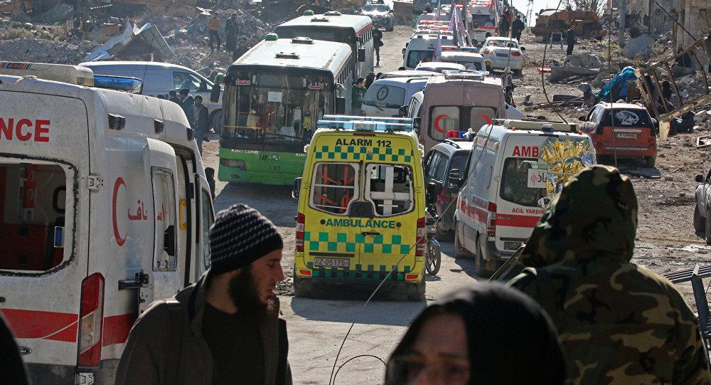 Evacuación de Alepo Oriental