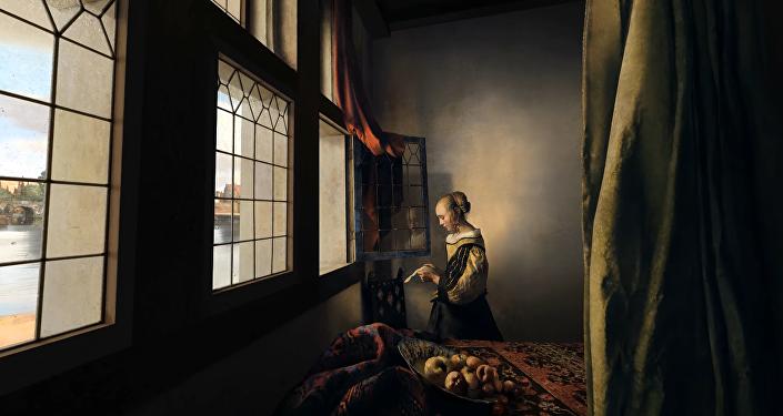 Un proyecto del estudio de diseño sueco Space Plunge permite a las personas 'visitar' el interior de pinturas históricas