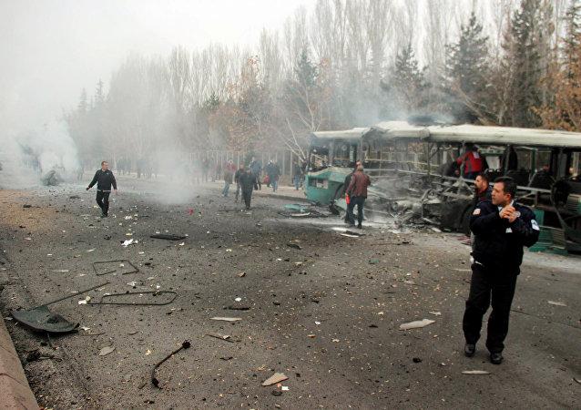 Explosión en la ciudad turca Kayseri