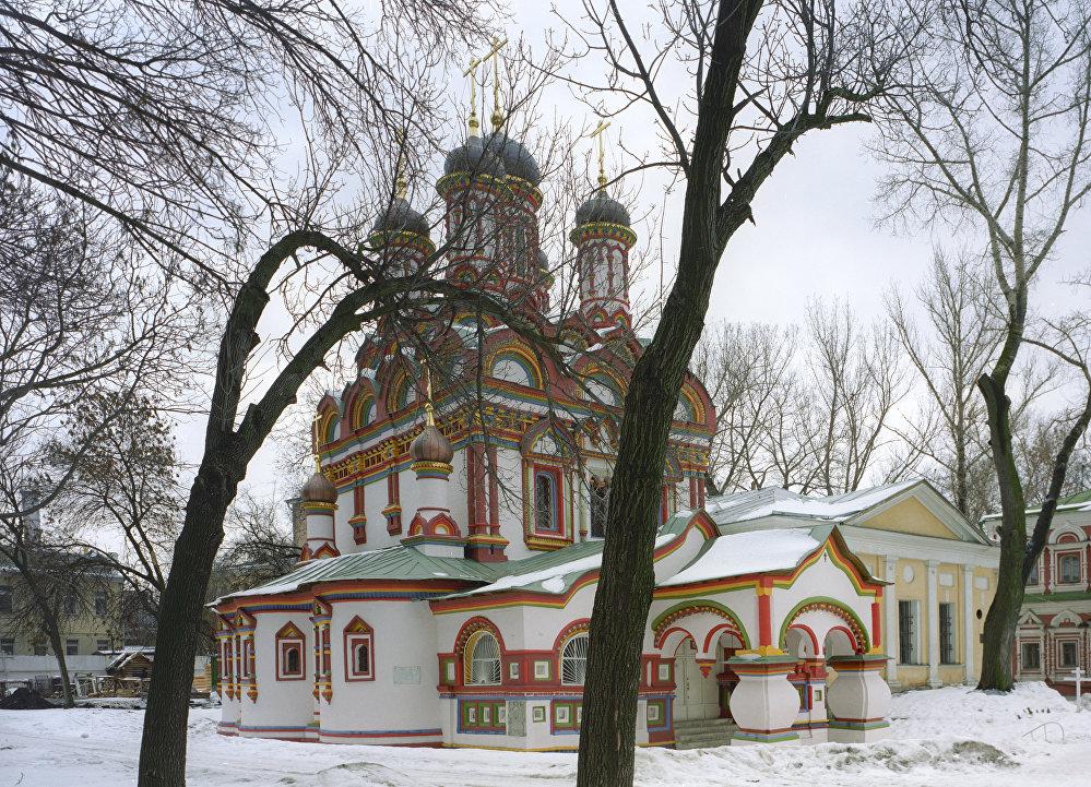 La iglesia de San Nicolás, en Bersenevka