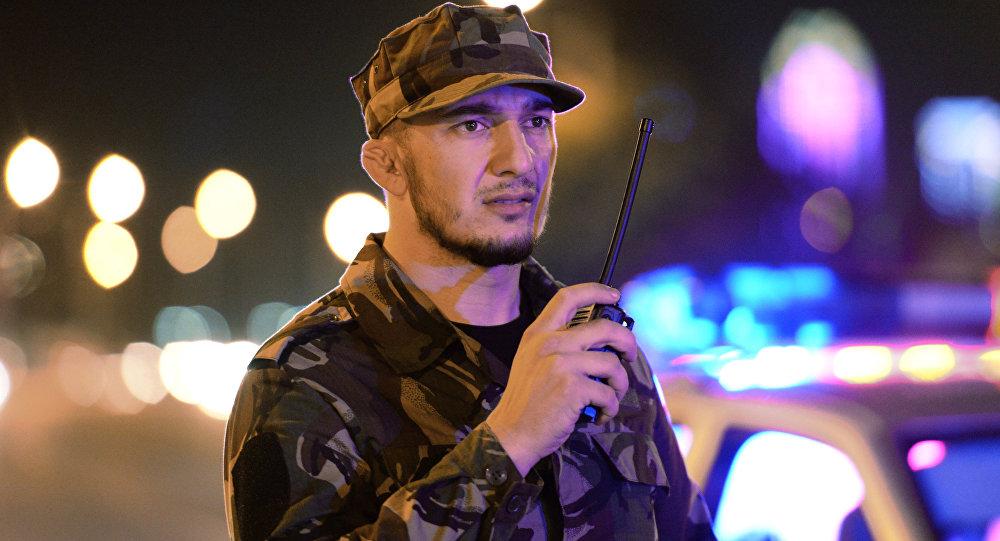 Agente de Ministerio del Interior de Chechenia