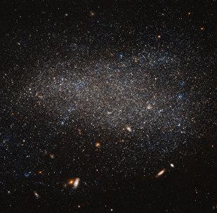 Una de las galaxias del universo (imagen referencial)