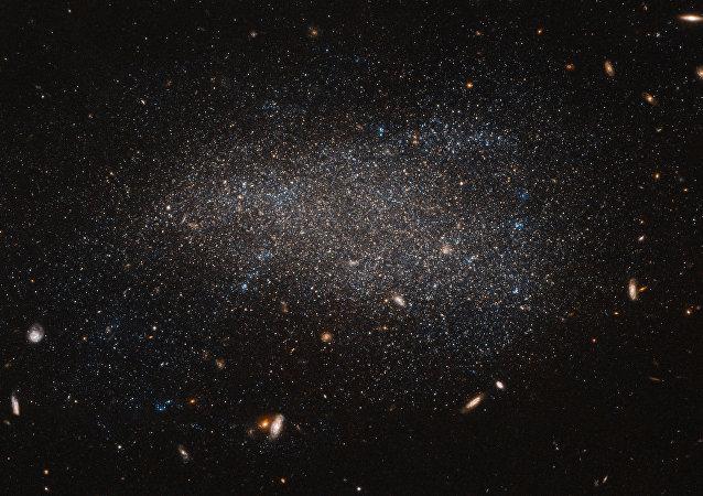 Imagen de Hubble de una de las galaxias del universo